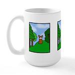 Corgi Comic Strip Large Mug