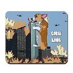 Corgi Kong Mousepad