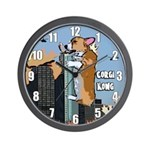 Corgi Kong Corgi Clock