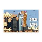 Corgi Kong Mini Poster Print