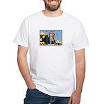 Corgi Kong White T-Shirt