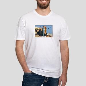 Corgi Kong Fitted T-Shirt