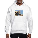 Corgi Kong Hooded Sweatshirt