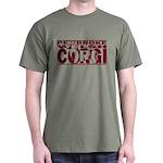 Hidden Pembroke Welsh Corgi Dark T-Shirt