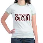 Hidden Pembroke Welsh Corgi Jr. Ringer T-Shirt