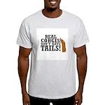 Real Corgi Ash Grey T-Shirt