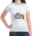 Real Corgi Jr. Ringer T-Shirt