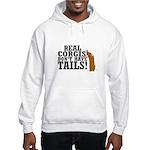 Real Corgi Hooded Sweatshirt