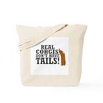 Real Corgi Tote Bag