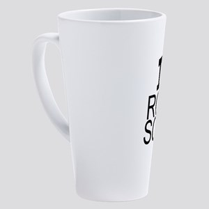 I Love Rocket Science 17 oz Latte Mug