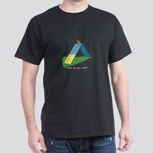 Timid Agility Corgi Dark T-Shirt