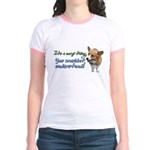 Corgi Thing Jr. Ringer T-Shirt