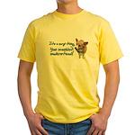 Corgi Thing Yellow T-Shirt