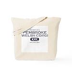 Property of Pembroke Welsh Corgi Tote Bag