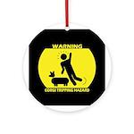 Tripping Hazard Ornament (Round)