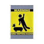Tripping Hazard Rectangle Magnet