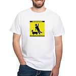 Tripping Hazard White T-Shirt