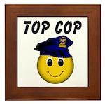 Top Cop Framed Tile