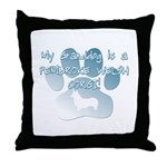 Pembroke Granddog Throw Pillow