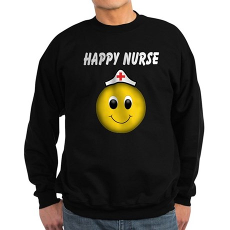 Happy Nurse Sweatshirt (dark)