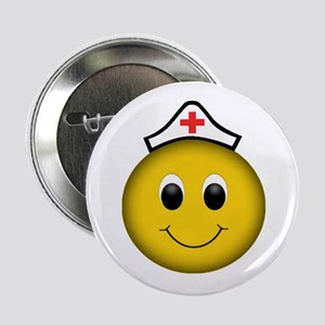 """Happy Nurse 2.25"""" Button"""