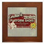 Corbin's Platform Shoes Framed Tile