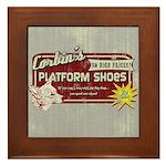 Corbin's Platform Shoes Framed Tile