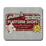 Corbin's Platform Shoes Mousepad