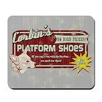 Corbin's Platform Shoes Mousepad