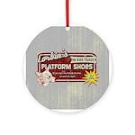 Corbin's Platform Shoes Ornament (Round)