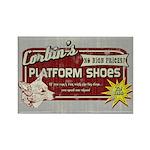 Corbin's Platform Shoes Rectangle Magnet