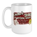 Corbin's Platform Shoes Large Mug