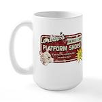 Corbin's Platform Shoes Large Mug