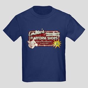 Corbin's Platform Shoes Kids Dark T-Shirt