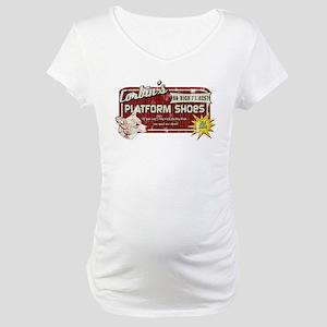 Corbin's Platform Shoes Maternity T-Shirt