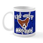 Need Coffee Corgi Mug