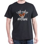 Need Coffee Corgi Black T-Shirt