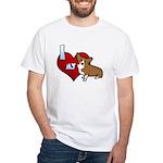 I Love my Corgi Tee Shirt (Cartoon Corgi)