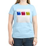 Color Row Pembroke Corgi Women's Light T-Shirt