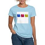 Color Row Pembroke Corgi Women's Light T-Shirt