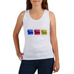 Color Row Pembroke Corgi Women's Tank Top