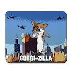 Corgi-zilla Mousepad