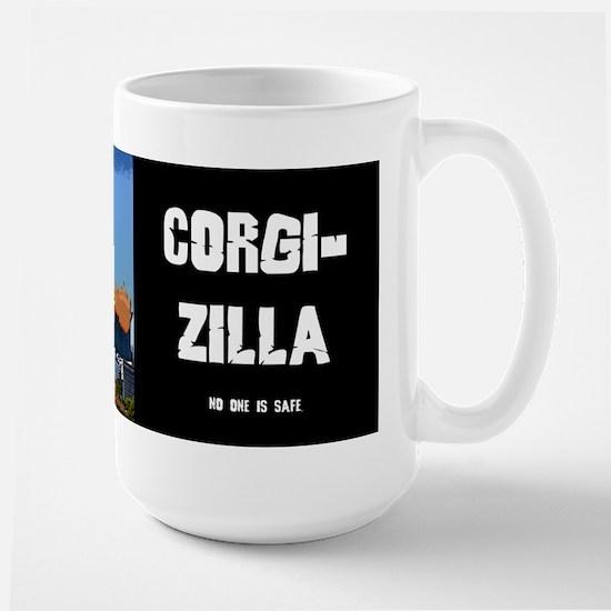 Corgi-zilla Large Mug