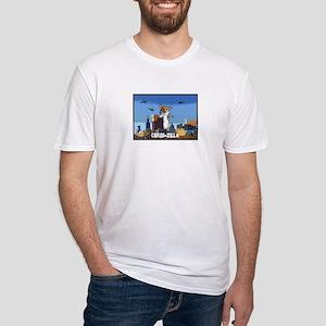 Corgi-zilla Fitted T-Shirt