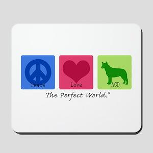 Peace Love ACD Mousepad