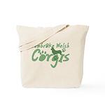 Pastel Green Pembroke Tote Bag