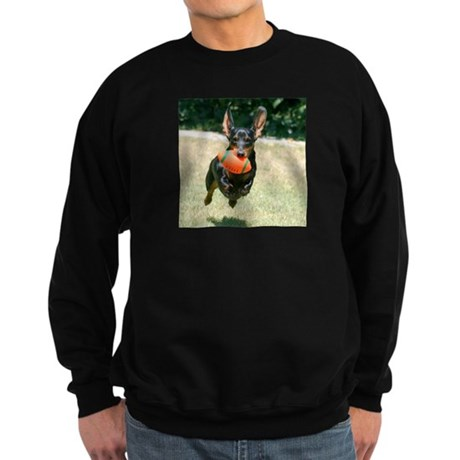 Football Doxie Sweatshirt (dark)