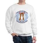 Sad Eyes Corgi Sweatshirt