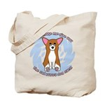 Sad Eyes Corgi Tote Bag