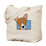 Cartoon Pembroke Welsh Corgi Tote Bag